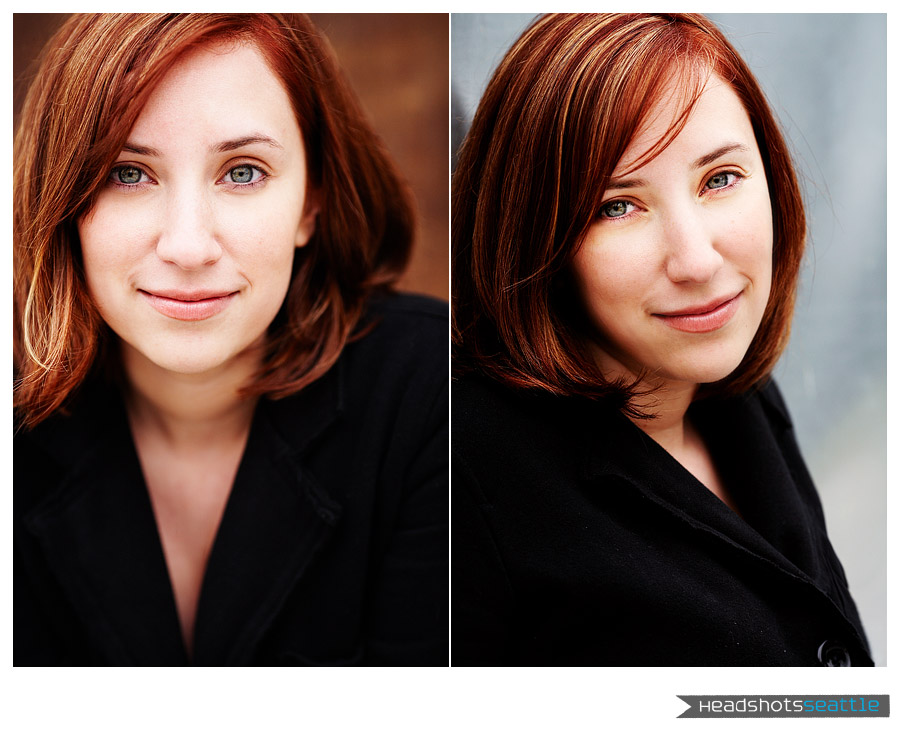 Seattle Actress Headshot