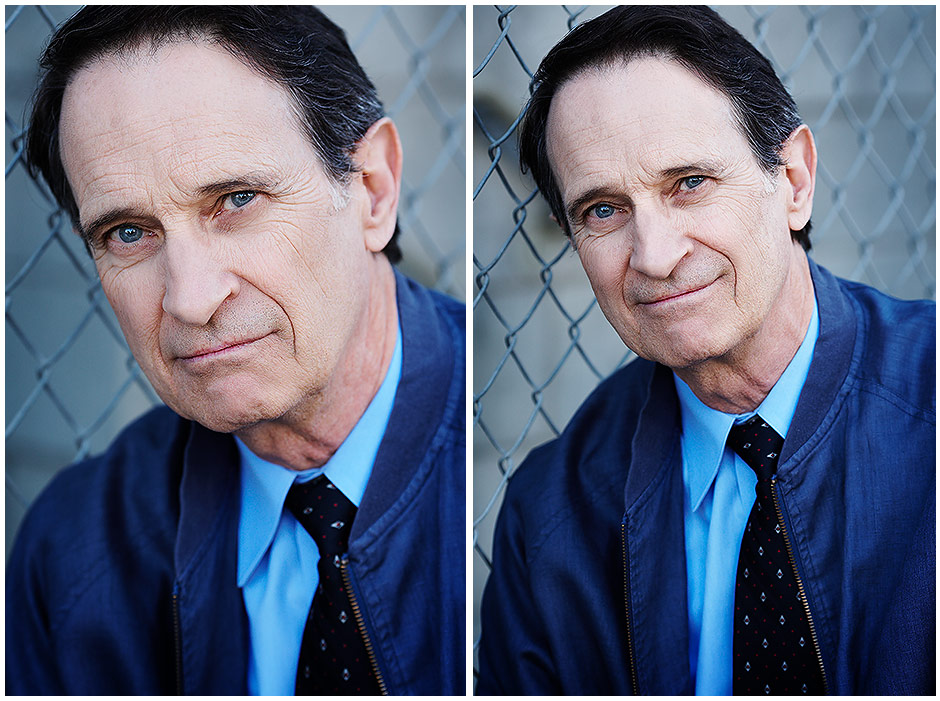 Elderly man headshots