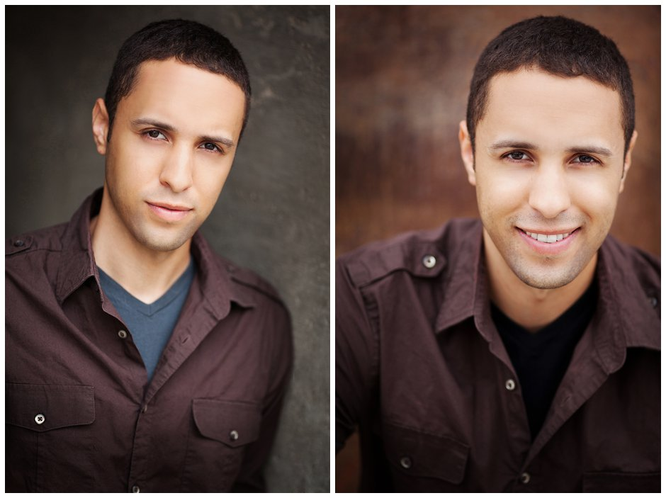 Headshot Photography - Justin, Actor