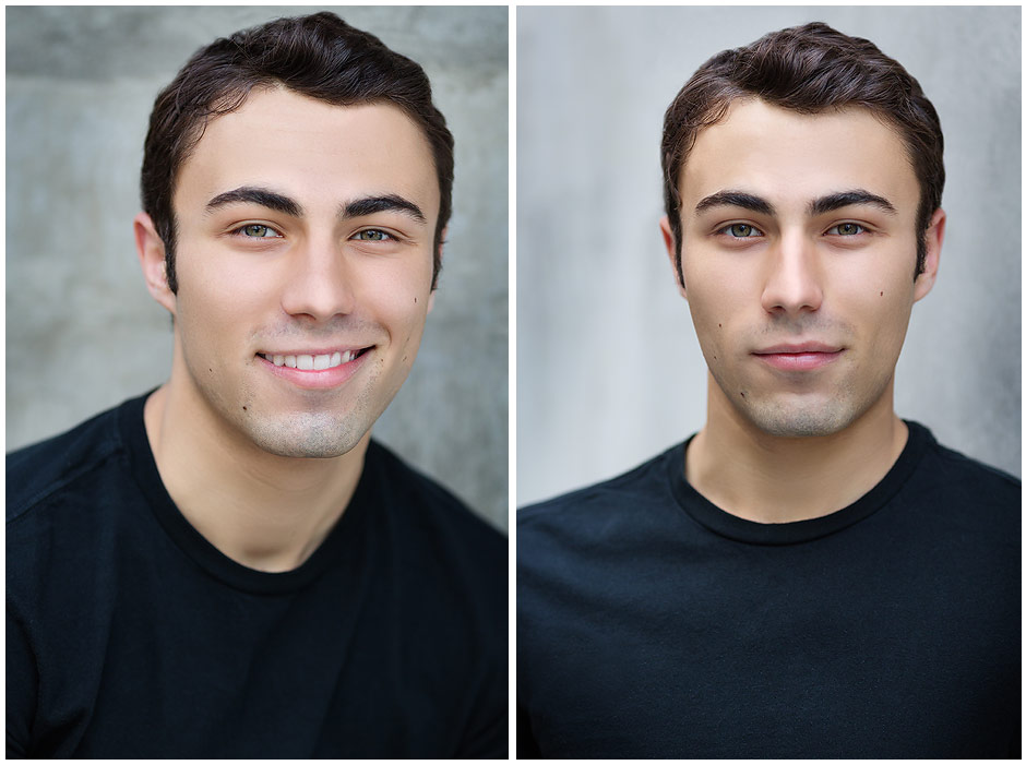 Young Actor in Seattle Headshot